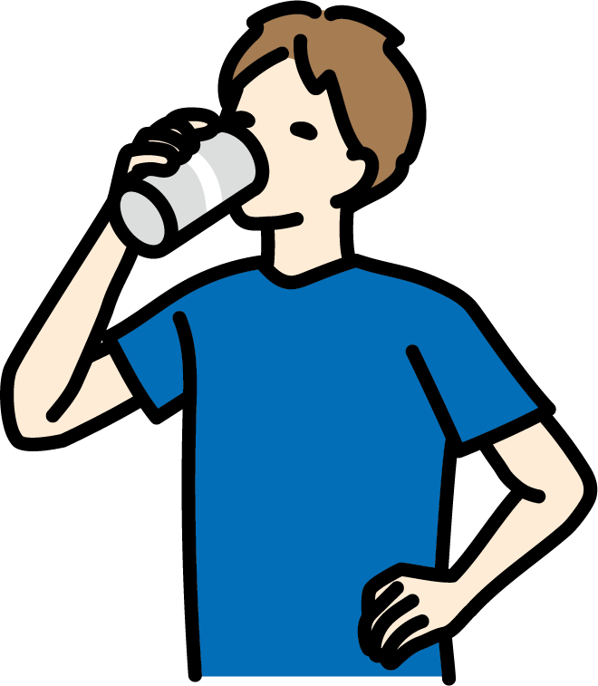 コラム 2021年6月号 運動時の水分補給